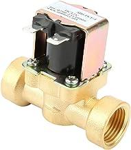 DC 12V messing DN15 G1 / 2 normaal gesloten koperen behuizing waterventiel elektromagnetisch ventiel