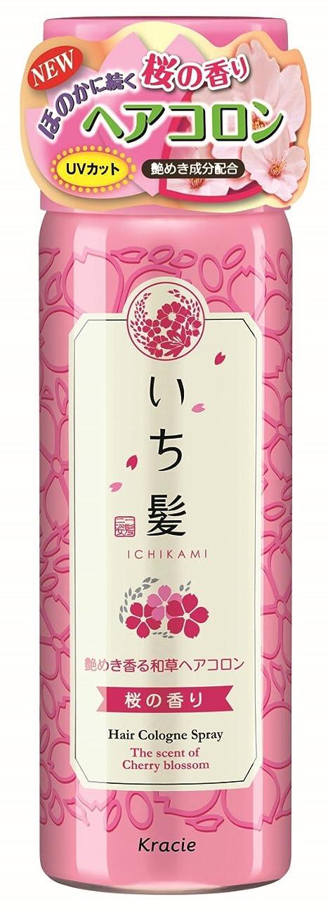 パース自体帰るいち髪 艶めき香る和草ヘアコロン 桜の香り 80g