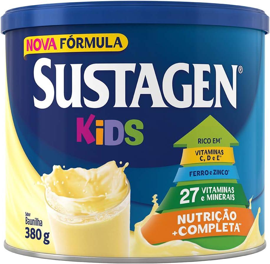 Complemento Alimentar Sustagen Kids Baunilha Lata 380g