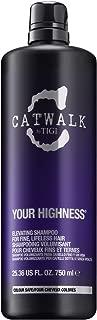 TIGI Cosmetics Catwalk Your Highness Shampoo, 25.36 Fl. Ounce, 25.36 Ounce ()
