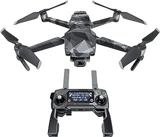 DJI Mavic 贴花套件 - 包括 1 个无人机/电池皮肤 + 控制器皮肤 Starkiller Mavic 2/Zoom DJIM2-STARKILLER