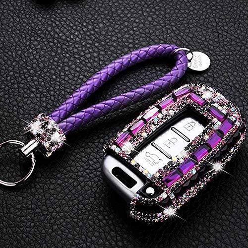 WYZXR Bling Shinning Crystal Diamond Auto Car Key Case Cover/Car Smart Remote Control Key Case Cover/Car Key Protector Case/Car Key Shell