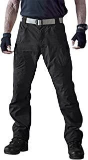 Men's Outdoor Quick Dry Water Repellent Assault Cargo Military Hiking Pants
