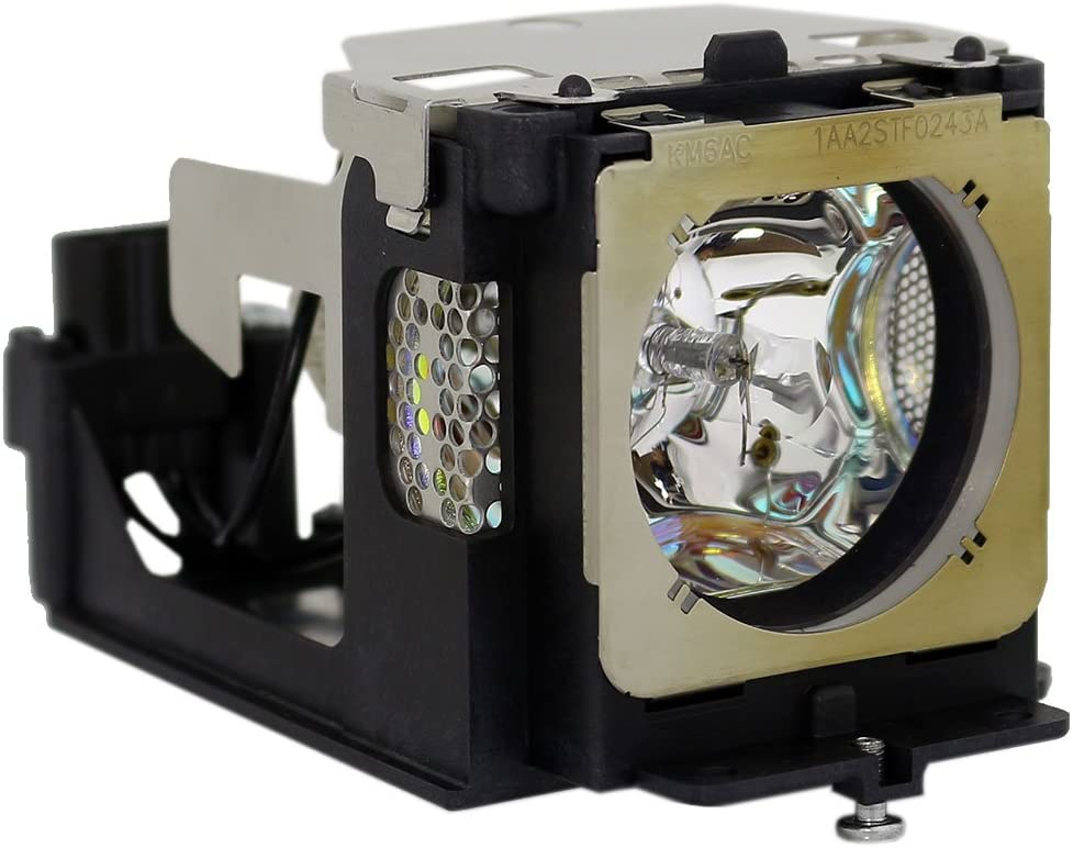 AuraBeam Professional POA-LMP111 / 610-333-9740 for Eiki LC-XB41 XGA 3LCD Replacement Projector Lamp/Bulb with Housing/Enclosure/Cage (Powered by Ushio)