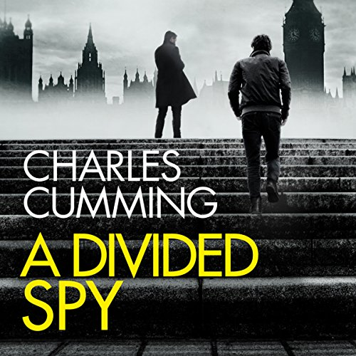 A Divided Spy audiobook cover art