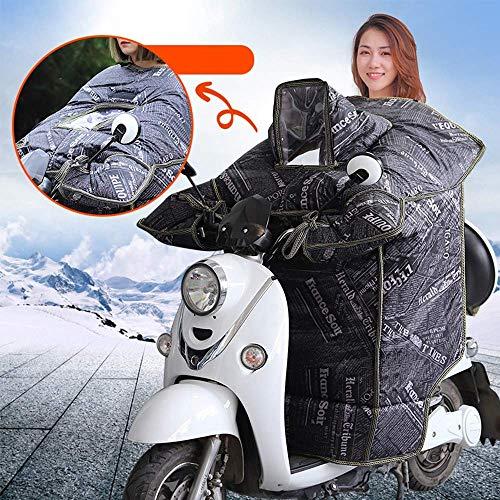 LXDDP Elektroauto Cold Cover, Winddicht wasserdicht Motorrad Windschutzscheibe Beinrunde Warm Dick Samt Roller Jacke Beinschutz