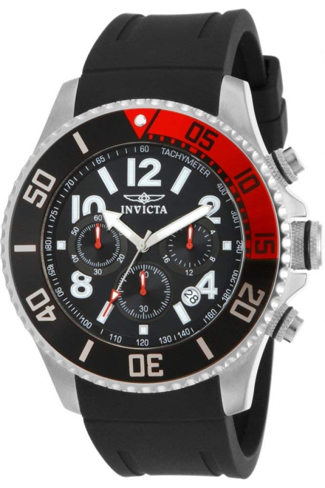 Invicta 15145 Diver Stainless Polyurethane
