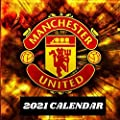 MANCHESTER UNITED CALENDAR 2021: Great gift for Manchester United lovers, 12 months Calendar with high quality arts pictures of Manchester United team