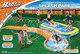 BANZAI Aqua Drench 3-in-1 Splash Park, Multi