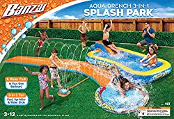 in budget affordable Banzai Aqua Wrench 3-in-1 Splash Park, Multi