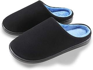 posee Men's Original Two-Tone Cozy Sofa Foam Slipper