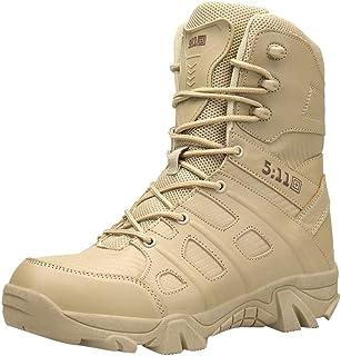 Zzzz Chaussure Homme Ville Durable DéContractéE Mode Confortable RandonnéE Loisirs Travail Bottes Militaires de randonnée ...