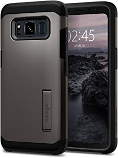 Spigen Tough Armor Designed for Samsung Galaxy S8 Active Case (2017) - Gunmetal