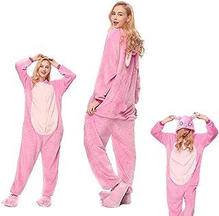 Pijama Mujer Invierno Pijamas De Franela para Adultos Pijamas para Hombres Y Mujeres Pijamas De Dinosaurio De Dibujos Animados De Animales Pijamas Divertidos para Adultos Monos De Cosplay