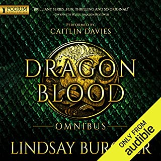 Dragon Blood - Omnibus                   By:                                                                                                                                 Lindsay Buroker                               Narrated by:                                                                                                                                 Caitlin Davies                      Length: 27 hrs and 34 mins     116 ratings     Overall 4.6
