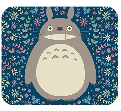 Price comparison product image Rectangle Mousepad Gaming Computer Notebook Laptop Mouse Pad with My Neighbor Totoro Print.