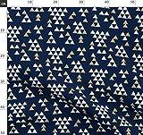 Dreieck, Tipi, Gold Glitter, Kinderzimmer, Glitzer Stoffe -