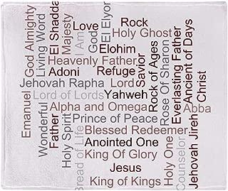 CafePress Names of God Soft Fleece Throw Blanket, 50