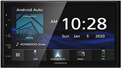 """Kenwood DMX4707S 6.8"""" Capacitive Touch screen Digital Multimedia Receiver with Apple.."""