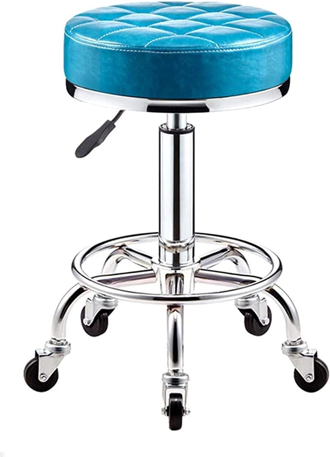 JYHS Bar Stool Ottoman Rolling Height Swivel with Max 46% OFF Max 71% OFF Wheels