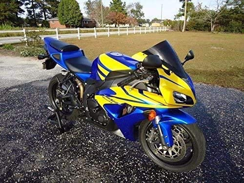 Lorababer Blue Yellow Motorcycle Complete Full Fairi Great Tucson Mall interest ABS Painted