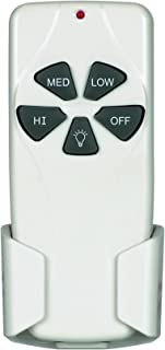 Concord Fans RM-101-S Universal Ceiling Fan Remote Control Small Motor