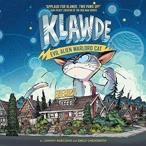 Klawde: Evil Alien Warlord Cat, Book 2: Enemies audiobook cover art