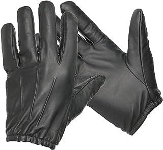 Guantes de seguridad Swift Wears de cuero y Kevlar negro