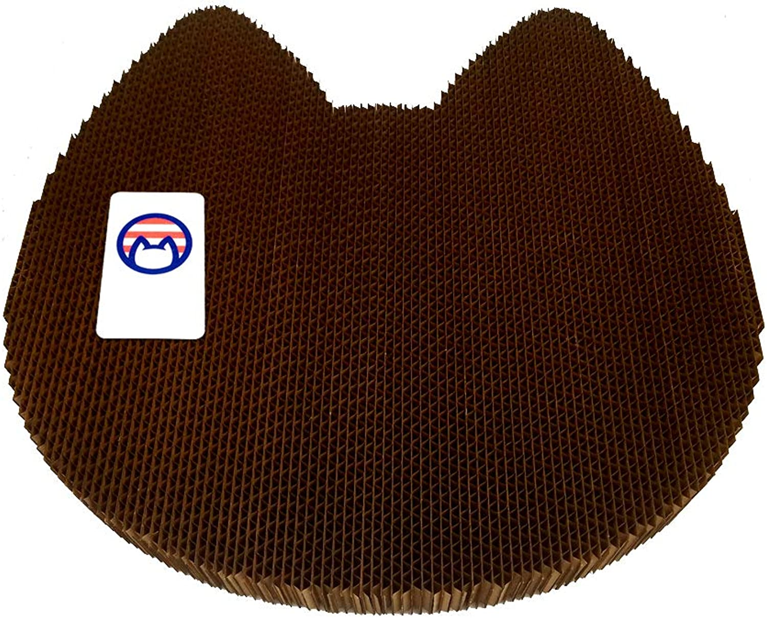 Americat Company Cat Scratcher and Lounger  Made in The USA  XL, Reversible, Heavy, Designed to Last  Cat Shape