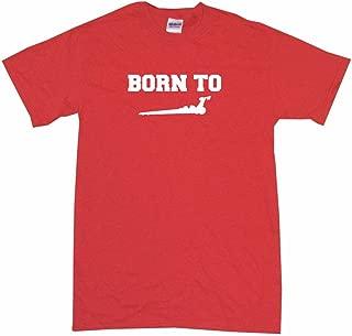 Born to Drag Racing Dragster Silhouette Big Boy's Kids Tee Shirt