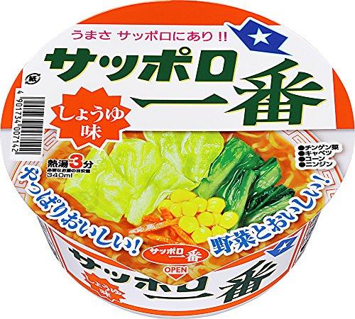 6位:サンヨー食品『サッポロ一番 しょうゆ味どんぶり』