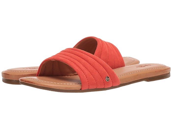 UGG  Jurupa (Pop Coral) Womens Sandals