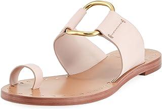 c4b7e60d9af Tory Burch Seashell Pink Brannan Studded Leather Sandals
