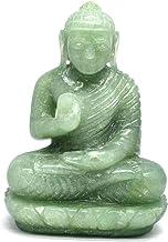 Natural Hand Carved Jade Statue Gemstone Buddha Sculpture