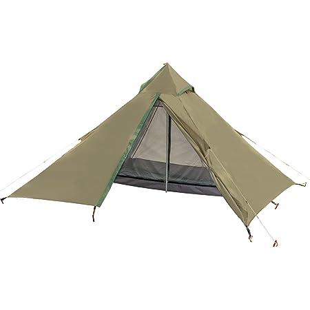 【Amazon限定ブランド】ジージーエヌ(G.G.N.) 55 ワンポールテント 軽量テント ソロテント GN12CM005 グレー グリーン