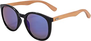 Real Bamboo Wooden Arms UV400 Sunglasses for Men or Women-5858