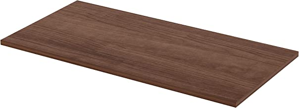 Lorell 59638 Active Office Relevance Table Top, Walnut,Laminated