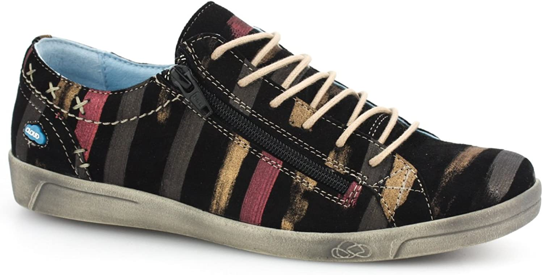 Cloud Footwear Women's Aika Fashion Sneaker (39 M EU, Black Fantasy)