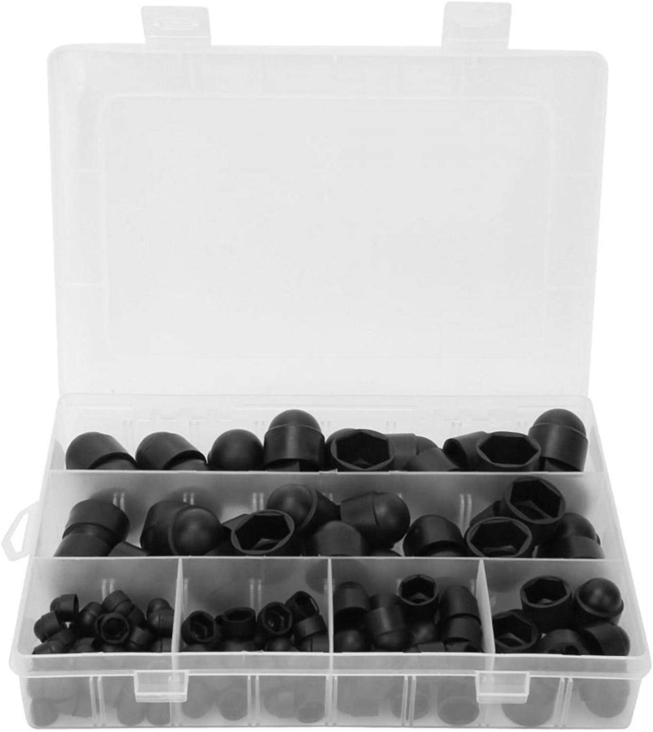 Protection Caps Dome Nut 145pcs M5 M4 Kit box Rubber Purchase Limited price sale