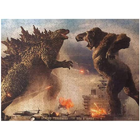 Demo Queen God-Zilla VS K-ong Wooden Picture Jigsaw Large Puzzle Artwork for Adults and Kids Home Decor Fun Educational Intellectual 1000pcs