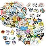 85 Piezas Paquete de Pegatinas, Etiqueta de Graffiti de Vinilo, Impermeable Pegatinas Graffiti Stickers para Bicicleta, Skateboard, Maleta, Botellas de Agua, Portátiles, Funda de Viaje