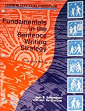 Fundamentals in the Sentence Writing Strategy (instructors manual)