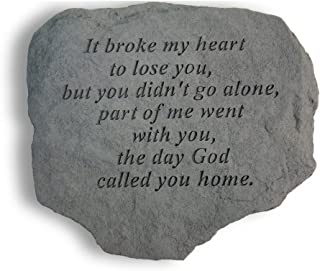 Kay Berry- Inc. 60820 It Broke My Heart To Lose You - Memorial - 11 Inches x 10 Inches