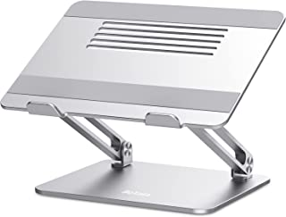 Laptop Stand, Boyata Adjustable Laptop Riser Ergonomic Computer Stand for Desk, Aluminum Laptop Holder Compatible for MacB...