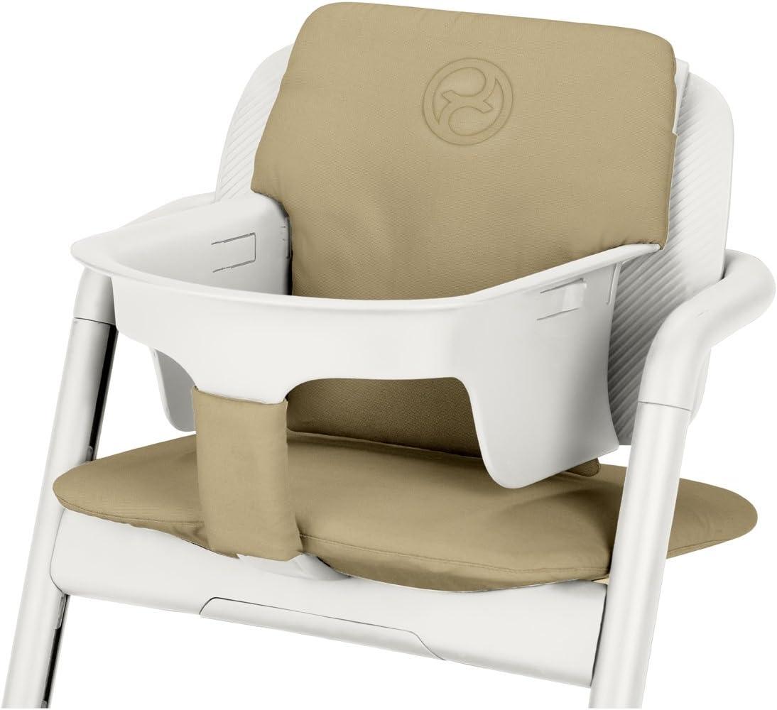 Cybex Gold Lemo Comfort Inlay 518002379 Juego de Acolchado para la Trona Cybex Lemo, Beige (Pale Beige)
