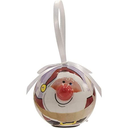 GINGERBREAD MAN Twinkling Treasures 3D Blinking Christmas Ornament