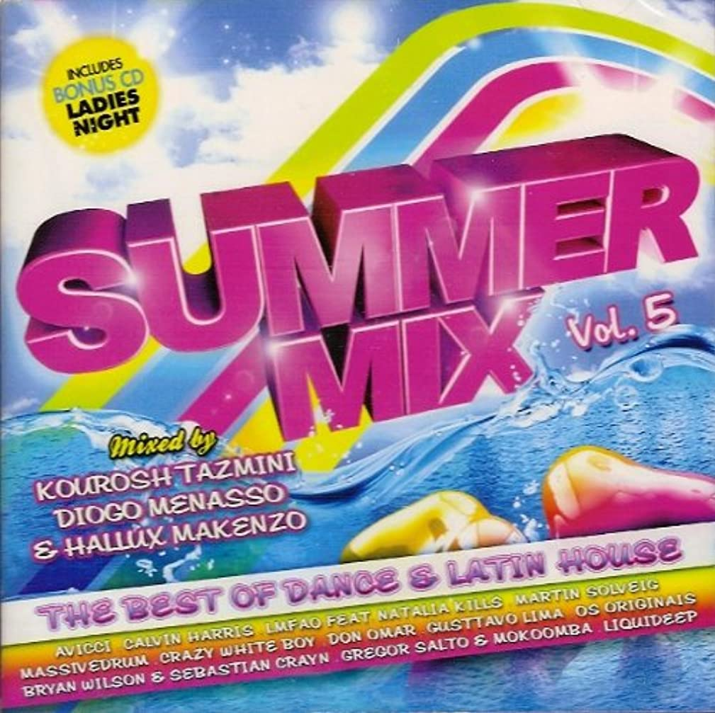 Summer Mix Vol. 5: The Best Of Dance & Latin House [2CD] 2012 [Mixed By Kourosh Tazmini, Diogo Menasso & Hallux Makenzo]