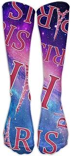 Hunter qiang, París Torre Eiffel regalo hombres mujeres Crew calcetines Beiläufige largo calcetines Unisex largo: 50 cm
