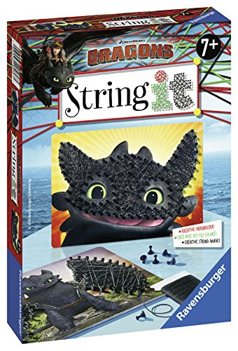 Ravensburger 18036 String It Mini: Dragons
