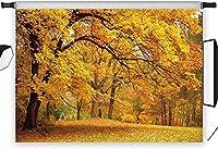APAN5x3ft自然秋の写真の背景秋の写真の背景メーカープロップビニールカスタマイズ